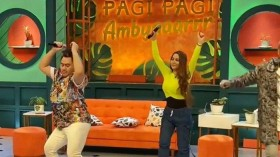 Acara 'Pagi Pagi Ambyar' Ditegur KPI karena Jogetan Dewi Perssik dan Nita Thalia
