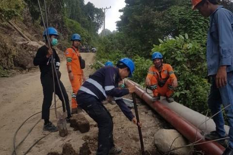 Wilayah Terisolasi Pascagempa Sulbar Kembali Teraliri Listrik