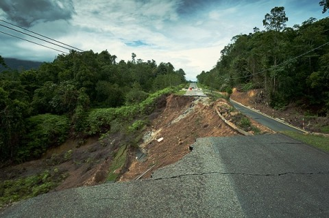 Longsor Tol Surabaya-Gempol Diduga karena Masalah Drainase