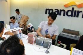 Bank Mandiri Cetak Laba Rp17,1 Triliun, Turun 37,71%