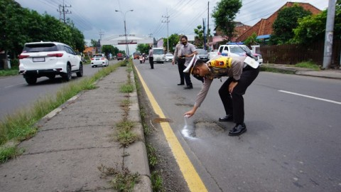 Rusak, Jalan Surabaya-Solo Kerap Makan Korban