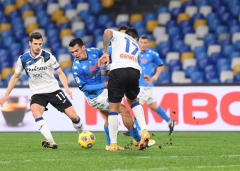 Coppa Italia: Napoli Imbang dengan Atalanta di Stadion Diego Maradona