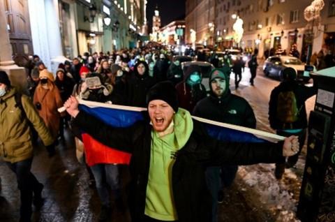 Rusia Usir Tiga Diplomat yang Mengikuti Demo Mendukung Navalny