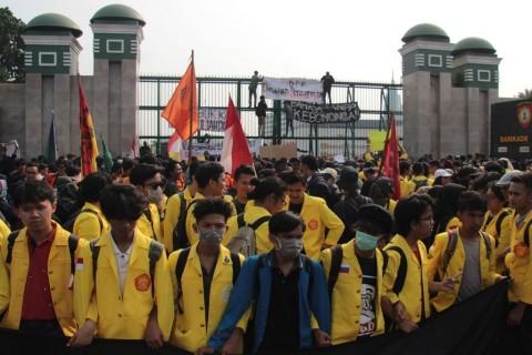 Bantah Rencana Pemakzulan Presiden Jokowi, BEM SI: Kami Tidak Terlibat