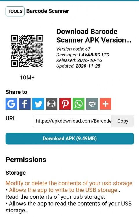 Segera Hapus! Aplikasi Barcode Ini Banyak Malware