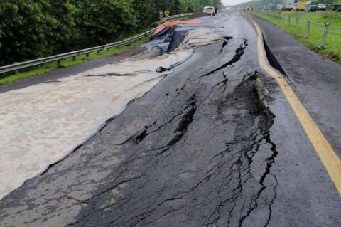 Diperbaiki, Jalan Tol Cipali yang Ambles Ditutup 1,5 Bulan