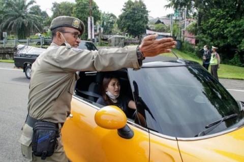 Pelanggar Ganjil Genap Kota Bogor Kena Denda Rp50 Ribu
