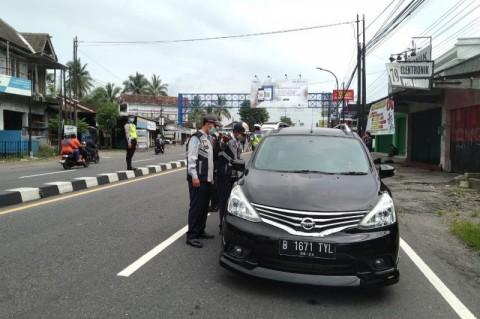 Kendaraan yang Masuk Sleman Harus Melewati Pemeriksaan