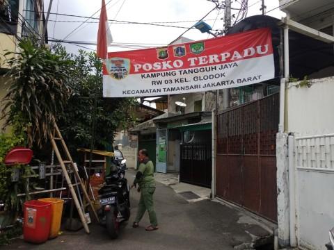 Program Kampung Tangguh DKI Disiplinkan Pemakaian Masker
