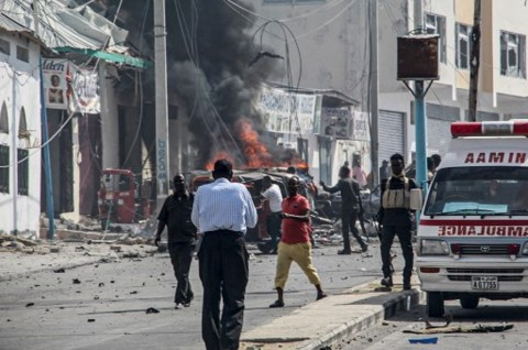 Bom Mobil Meledak Dekat Istana Kepresidenan Somalia