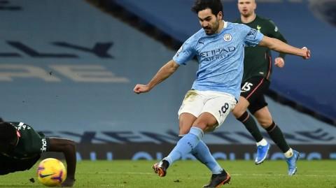 Manchester City vs Tottenham Hotspur: City Berpesta