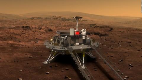 Menyusul UEA, Tiongkok Bersiap Mendarat ke Mars