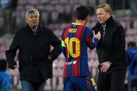Koeman Sebut Messi Masih Bahagia Membela Barcelona