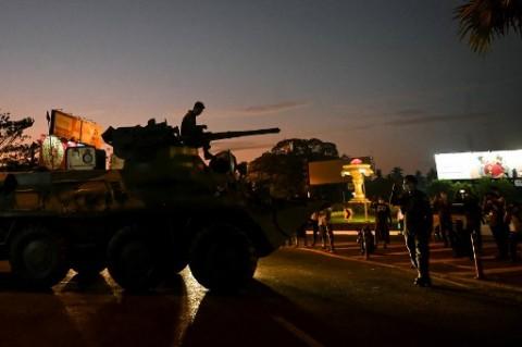 Pasukan Myanmar Lepaskan Tembakan ke Pedemo Penentang Kudeta