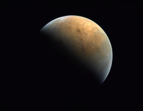 Satelit Planet Mars Buatan Uni Emirat Arab Pamer Foto Pertamanya