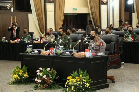TNI-Polri Dirikan 13.175 Posko Terpadu di 17.680 Kelurahan