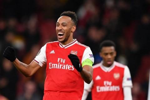 Usai Cetak Hattrick, Aubameyang Berterima Kasih kepada Arsenal