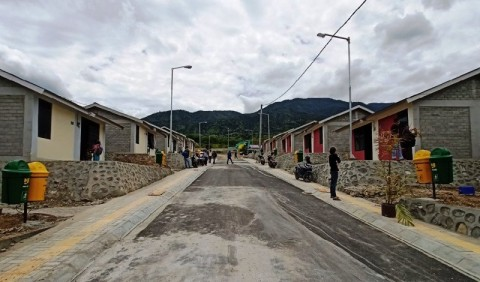 108 Hunian Telah Ditempati Korban Bencana Palu