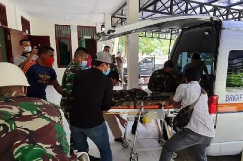 Tewas Ditembak KKB, Jenazah Prajurit TNI Diterbangkan ke Jakarta