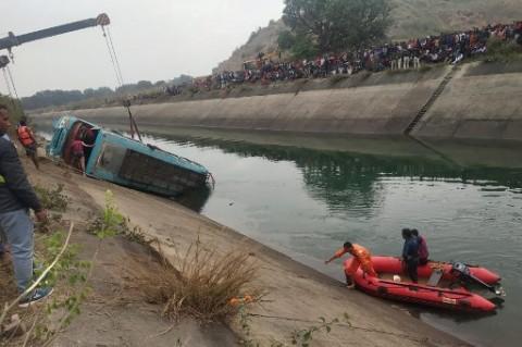 Bus Tenggelam di India, 40 Orang Tewas