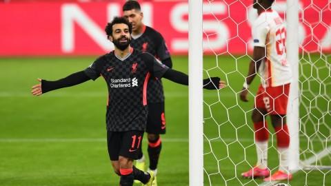 RB Leipzig vs Liverpool: Salah dan Mane Menangkan The Reds