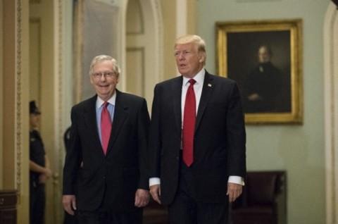 Trump Lancarkan Serangan Personal ke Ketua Senat Republik