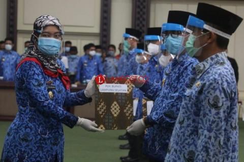 8 Plh Wali Kota/Bupati di Lampung Resmi Bertugas
