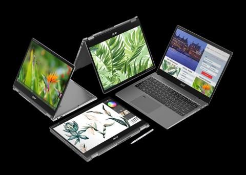 Acer Rilis Spin 5 Lite dan Spin 3 Active, Jagokan Mobilitas dan Fleksibilitas