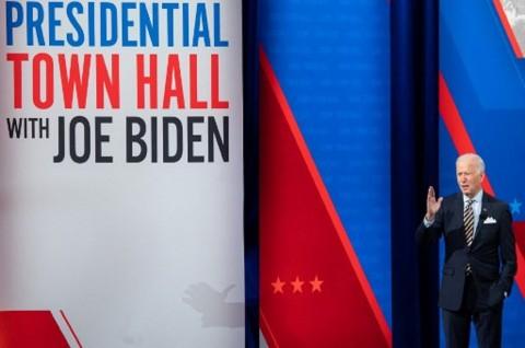 Biden Mengaku Lelah Bicarakan Trump