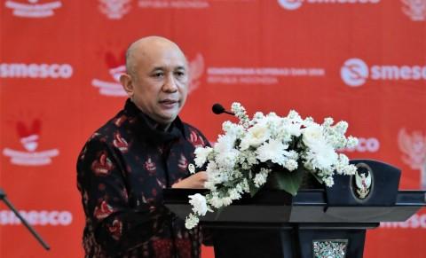 Menteri Teten Dorong Komunitas Ekraf Bergabung dalam Wadah Koperasi