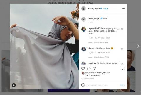 Geger Isu Pelakor, Instagram Nissa Sabyan Diserbu Netizen