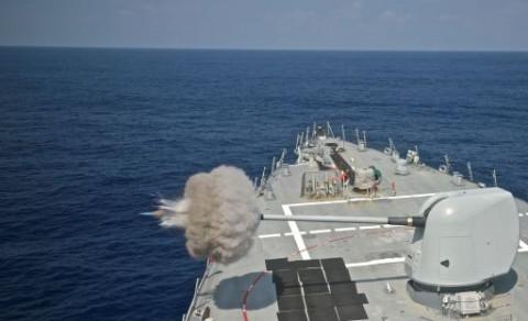 Kapal Perang AS Kembali Berlayar di Laut China Selatan