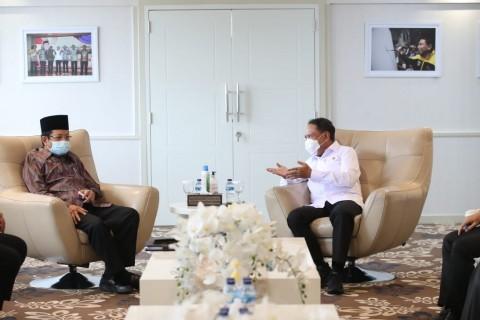 Menpora Terima Kunjungan Imam Besar Masjid Istiqlal, Bahas Ini