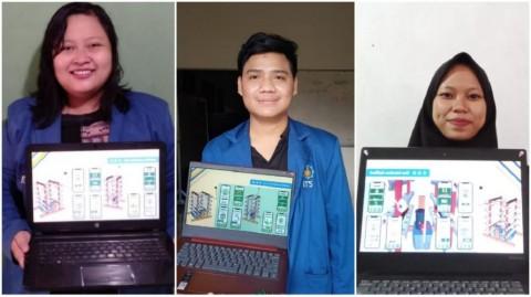 Mahasiswa ITS Gagas Hidroponik Serbaguna Berbasis IoT
