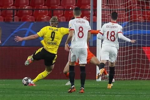Sevilla vs Dortmund: Haaland Menangkan Die Schwarzgelben