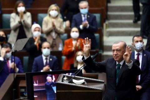 Erdogan Sebut Turki Akan Normalisasi Kondisi Usai Covid-19 Pada Maret