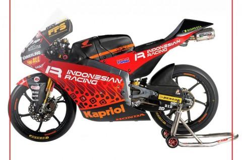 Tim Balap Moto3 Ini Pakai Livery Batik