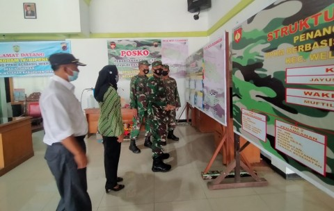Ratusan Anggota TNI Polri Kawal PPKM Mikro di Jepara