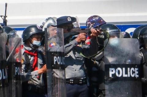 Seminggu Lebih Dirawat, Pedemo Penentang Kudeta Myanmar Meninggal