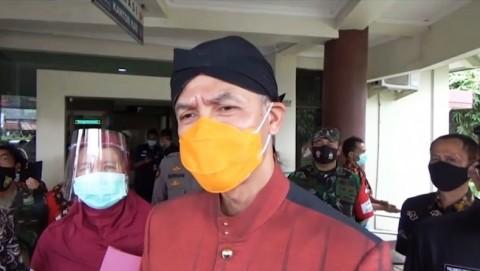 PPKM Mikro dan Vaksinasi Turunkan Angka Positif Covid-19 di Jateng