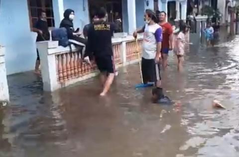Melanda 57 RT, Wagub Ariza Klaim Dampak Banjir DKI Menurun