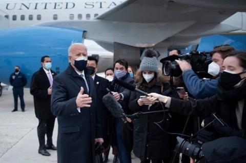 Joe Biden Tegaskan 'Amerika sudah Kembali' dalam Hubungan AS-Eropa