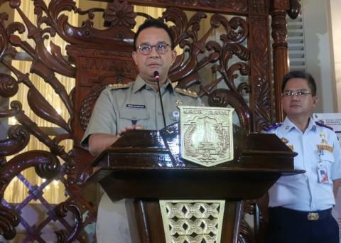 Anies Sebut 200 RT di Jakarta Terendam Banjir