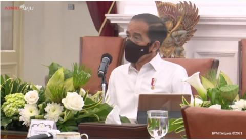 Jokowi Blak-Blakan Soal Tantangan Vaksinasi Covid-19