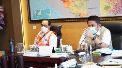 Status Lahan <i>Clear</i>, Herman Deru Yakinkan Menhub Segera Bangun Pelabuhan Tanjung Carat