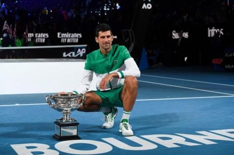 Novak Djokovic Pertahankan Gelar Australian Open