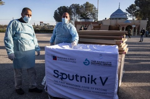 Gaza Terima 20 Ribu Vaksin Sputnik V dari Uni Emirat Arab