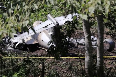 Pesawat Militer Meksiko Jatuh usai Lepas Landas, Semua Kru Tewas