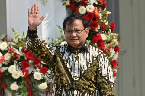 Survei: Kerja Menteri Pertahanan Prabowo Subianto Paling Memuaskan Publik