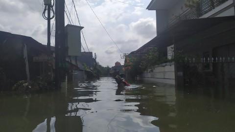 Banjir Masih Merendam 3 Kelurahan di Kota Tangerang